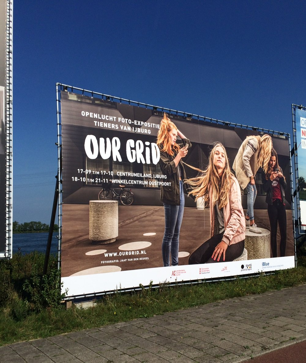 Billboard A-10 afslag Zeeburg/IJburg