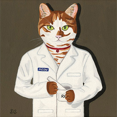 """Cat Pharmacist"""