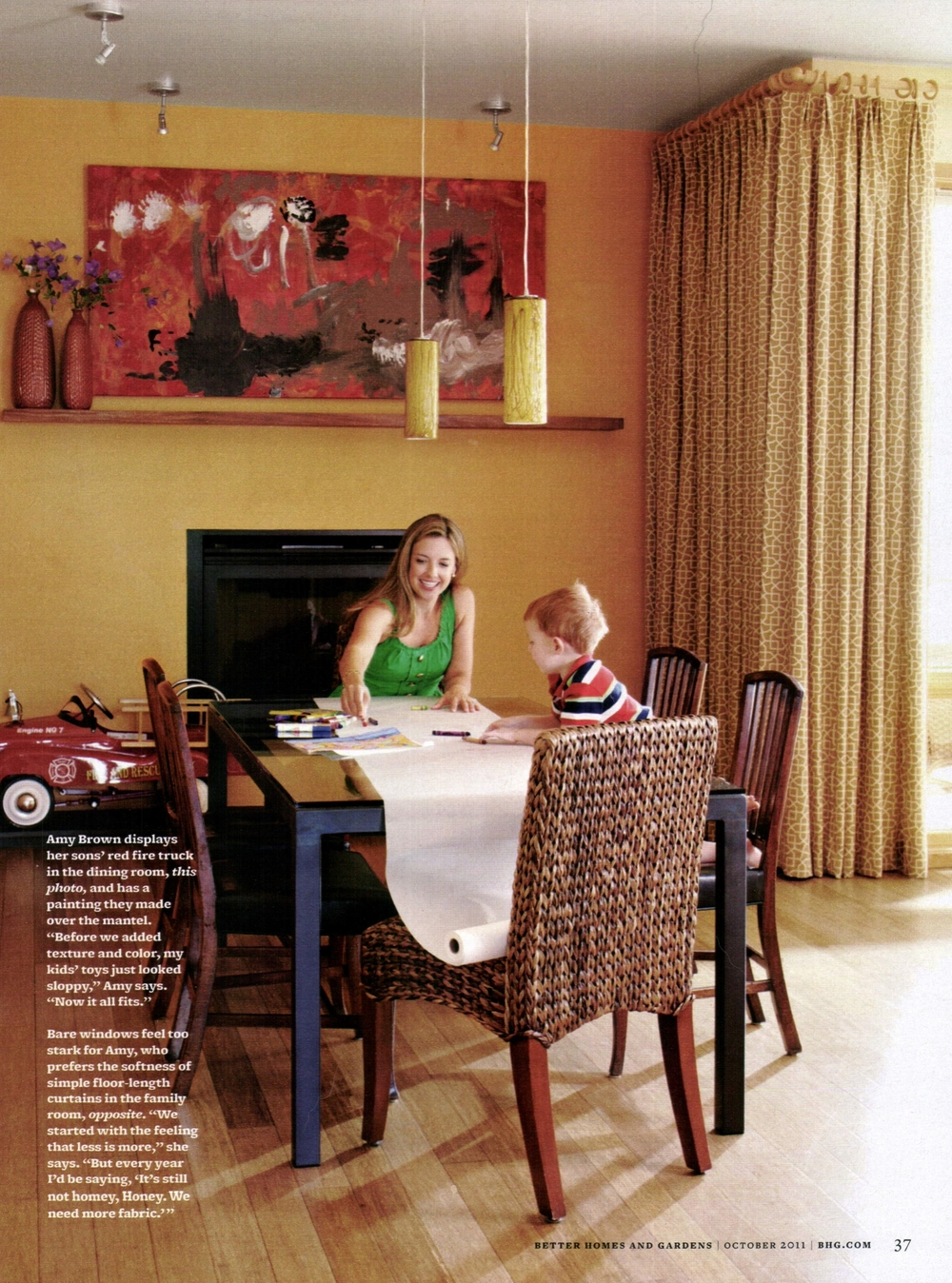 Better Homes and Gardens Fall 2011 — Amy Brown Interiors