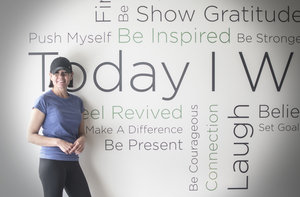 """Ingrid Enns Member since October 2016 """"Being your best is all about doing your best. As a REVIVE member, I am challenged, motivated and inspired to strive to be the strongest, healthiest and best version of MYSELF."""""""