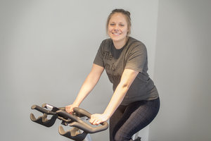 """Athena De Marco Member since November 2016 """"I love the variety of exercises in each class and how well each session challenges me. I choose REVIVE because not only does it provide great value, every staff member makes sure to check in and keep me accountable to the goals I set out when I first started there. Since starting at Revive I have lost over 20lbs and significantly improved my overall fitness, health and flexibility which I know will only keep improving with the help of REVIVE."""""""