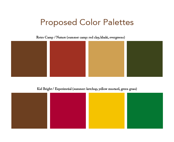 Client Logo Color Palette