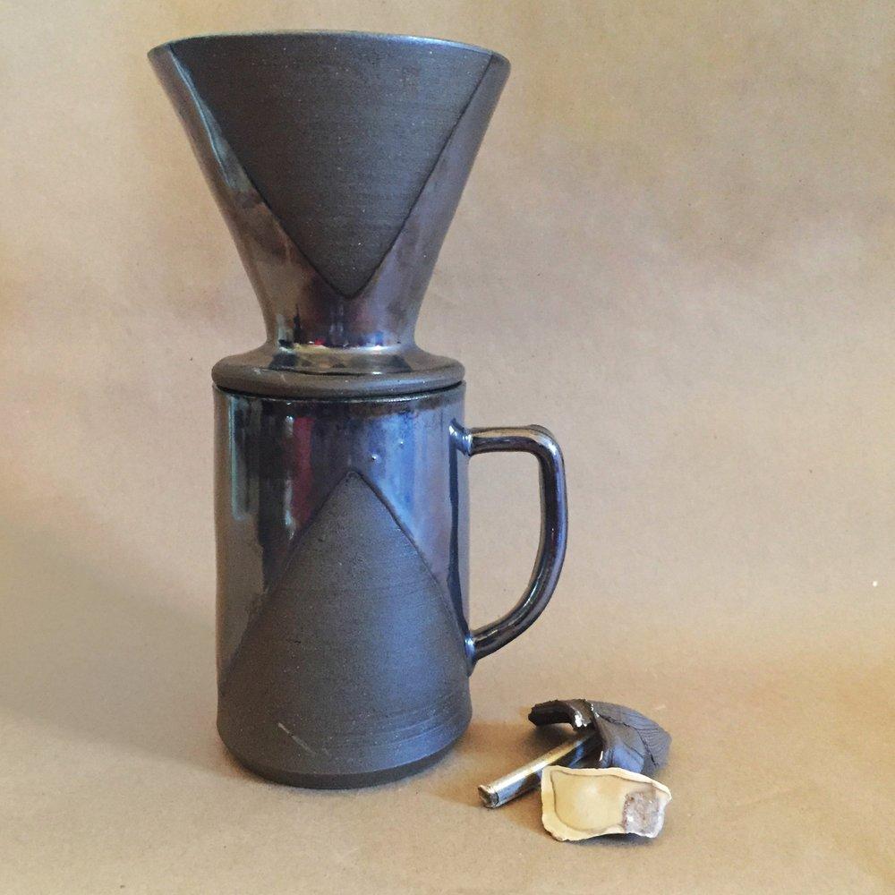 dark brown palladium dripper set.jpg