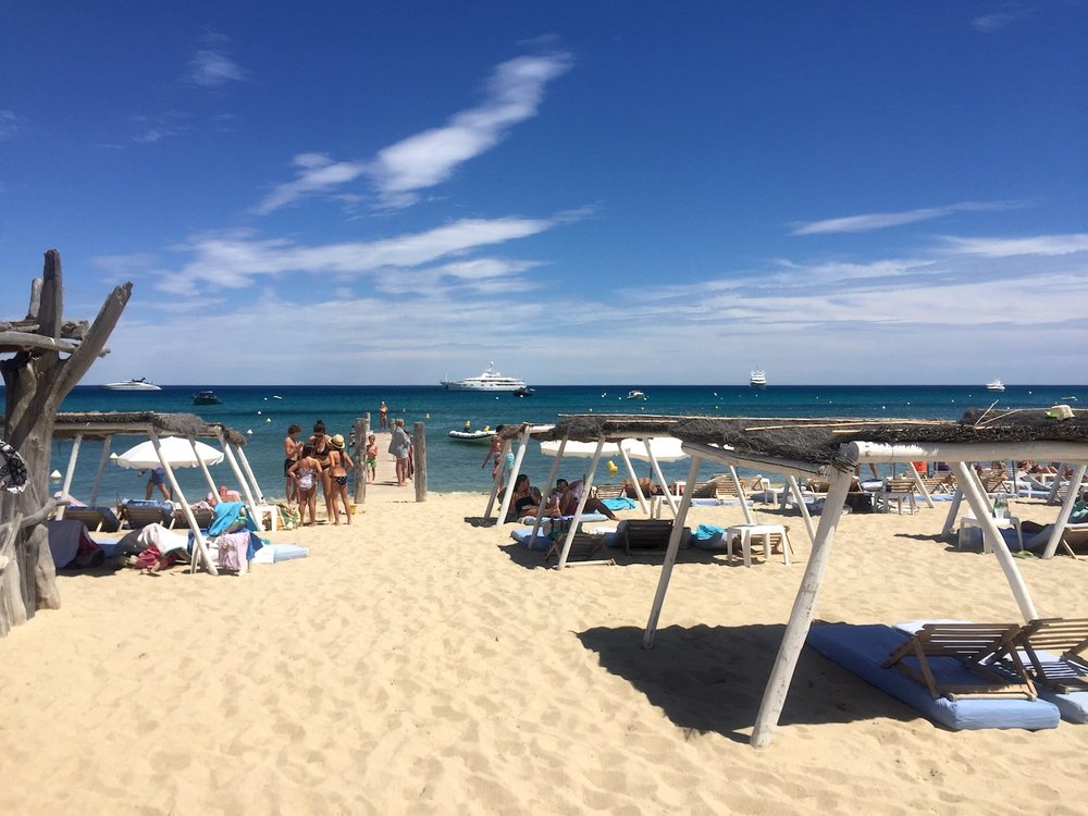 Club55 - Plage de Pampelonne, Saint Tropez.