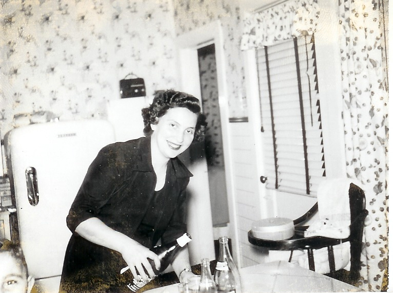 My inspiration, Filomena. 1946