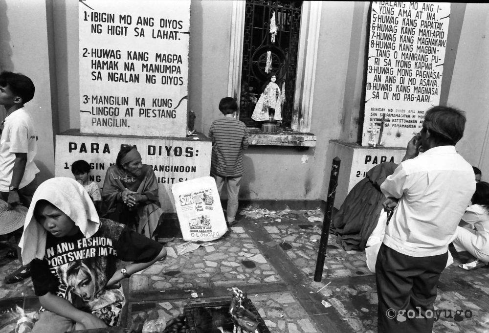 Quiapo Churchyard, Manila / Philippines