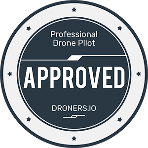 We are proud to  be an authorized pilot with Droners.io!