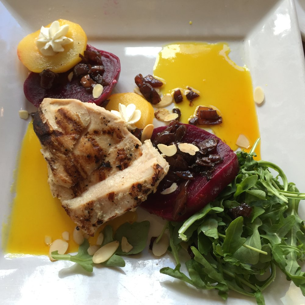 The Amazing Beet Salad with Chicken