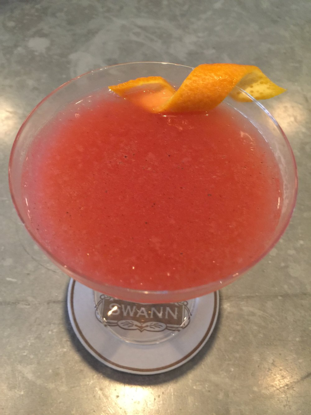 Leave a Message - Kettle One | Veuve de Vernay | strawberry-chamomille-orange compote