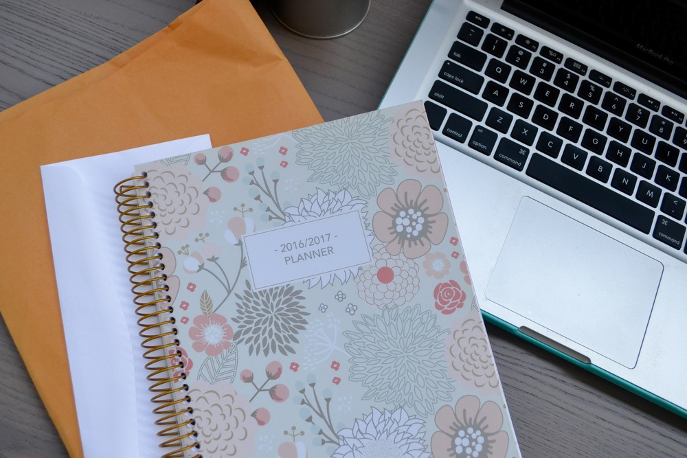 Customizable planner from SHP Planners (available on Etsy  here ).