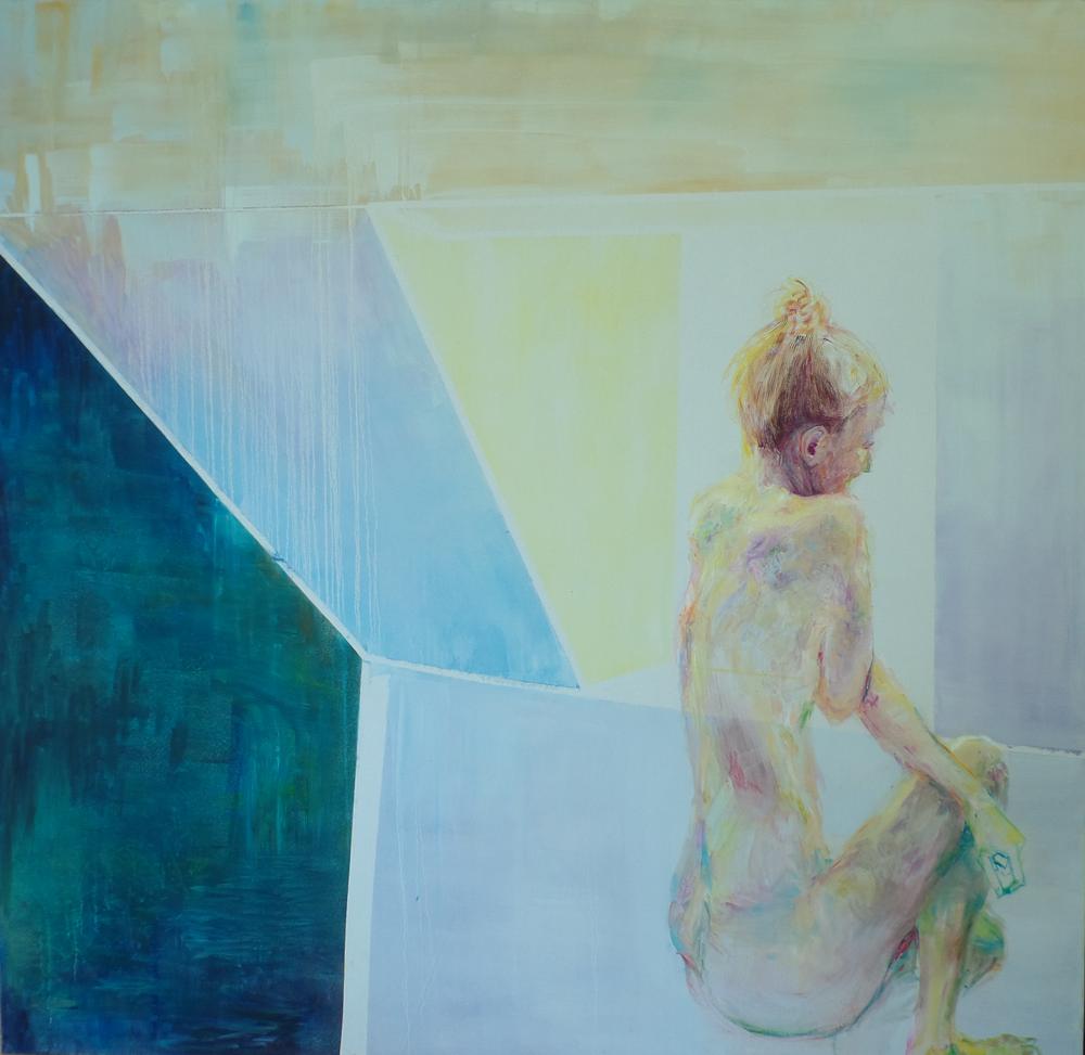 180 x 175 cm  oil on canvas