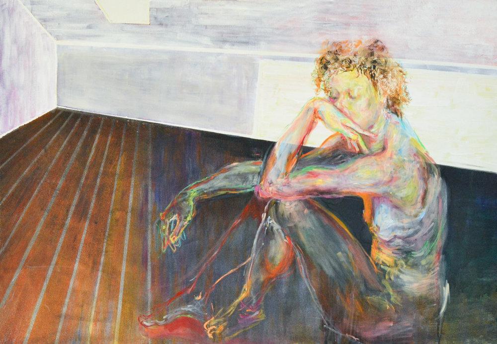165 x 155 cm  oil on canvas