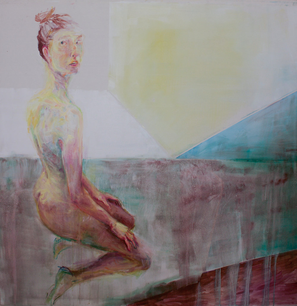 185 x 165cm  oil on canvas