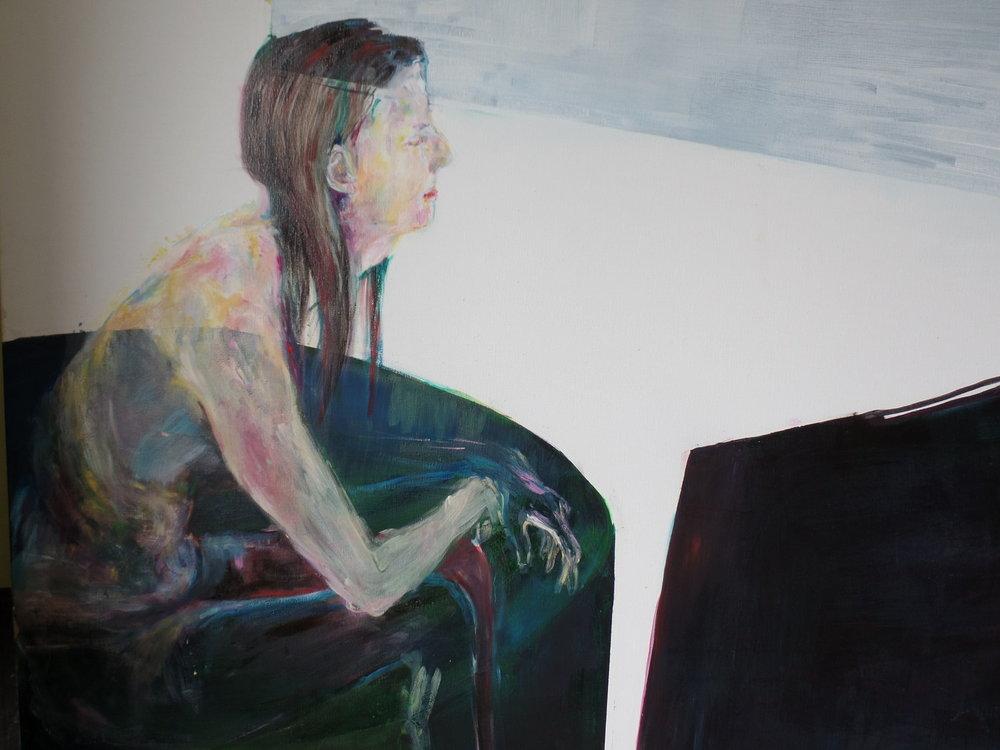 175 x 165 cm  oil on canvas