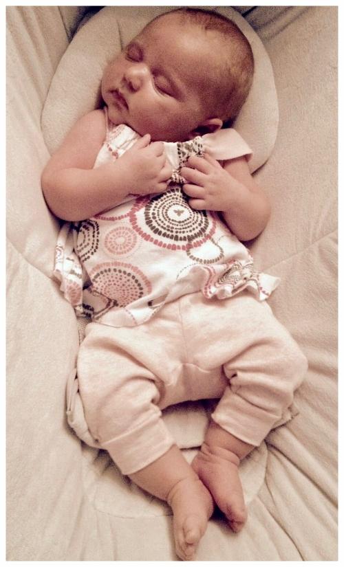 Austin home birth baby Ayla