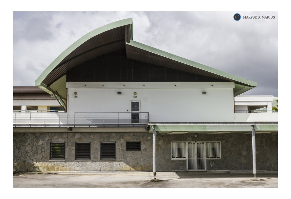 Cité Hospitalière  Mangot Vulcin, Le Lamentin, Martinique. Julliet 2017.