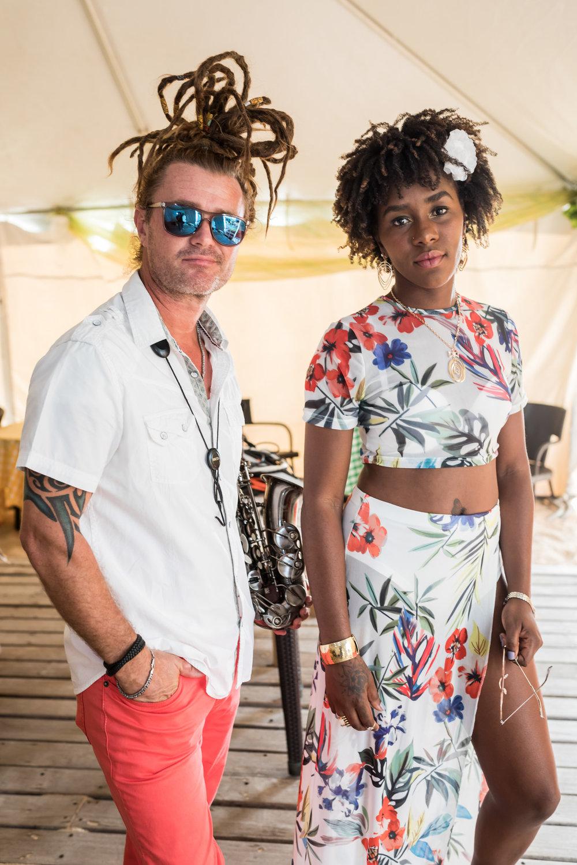Rob Zii & Phyness - Beach Sunset Jazz @ Bay Gardens Beach Resort - 9th May, 2018 (1).jpg