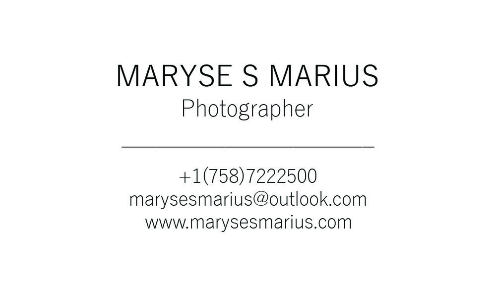 Simple Photographer Business Card