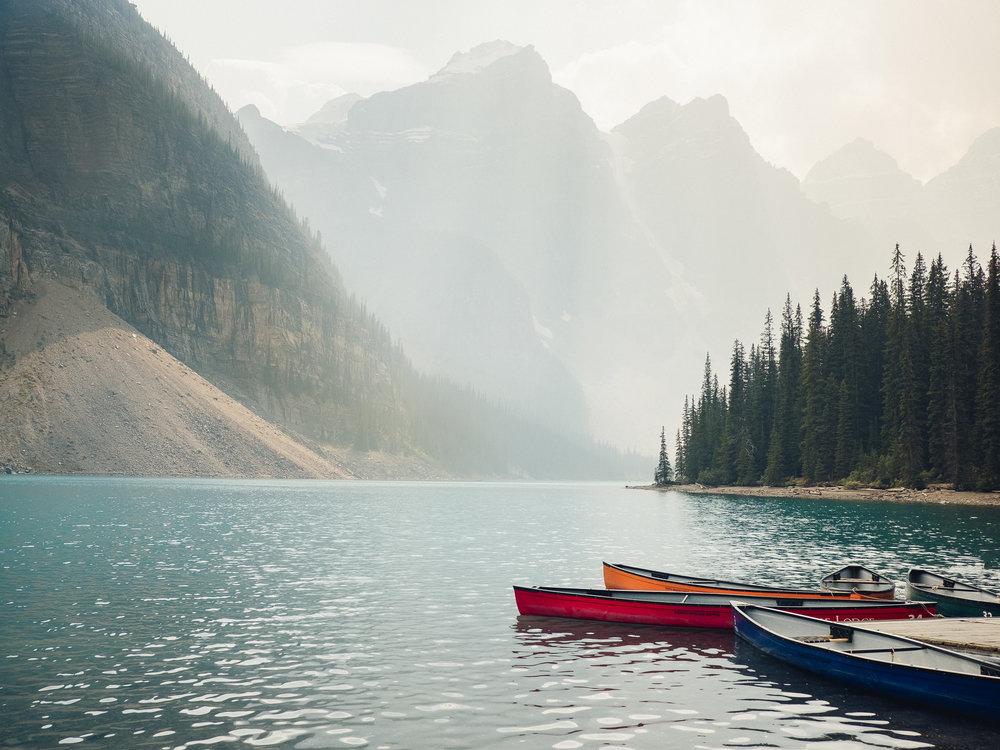 Banff, Canada - September 2018