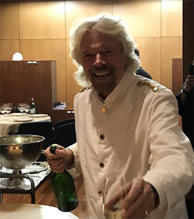 richard branson virgin voyages kickoff