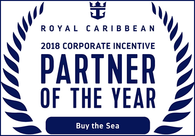 Royal Caribbean Names Partners Of The Year For 2018 - Buy the Sea was named partner of the year for corporate meeting and incentive travel