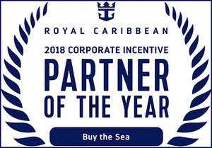 Royal Caribbean Names Partners Of The Year For 2018Buy the Sea was named Partner of the Year for Corporate Meeting and Incentive Travel -