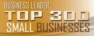 2010 Business Leader Top 300 Businesses -