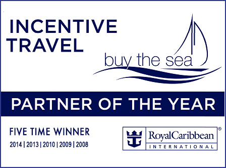 2015 February, Travel Weekly — Royal Caribbean Names Partners Of The Year For 2014Buy the Sea was named partner of the year for corporate meeting and incentive travel -