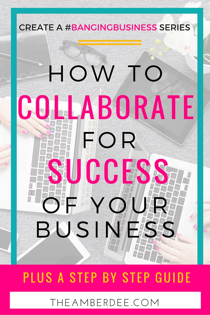 Did you know collaborating can be an excellent way to grow your business?