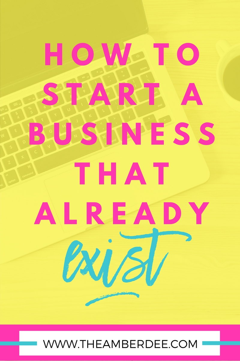 Feeling uneasy about starting a business because someone else has already started? No worries. read how to start an existing business here.