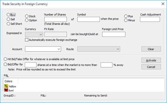 Calculate delta fx options