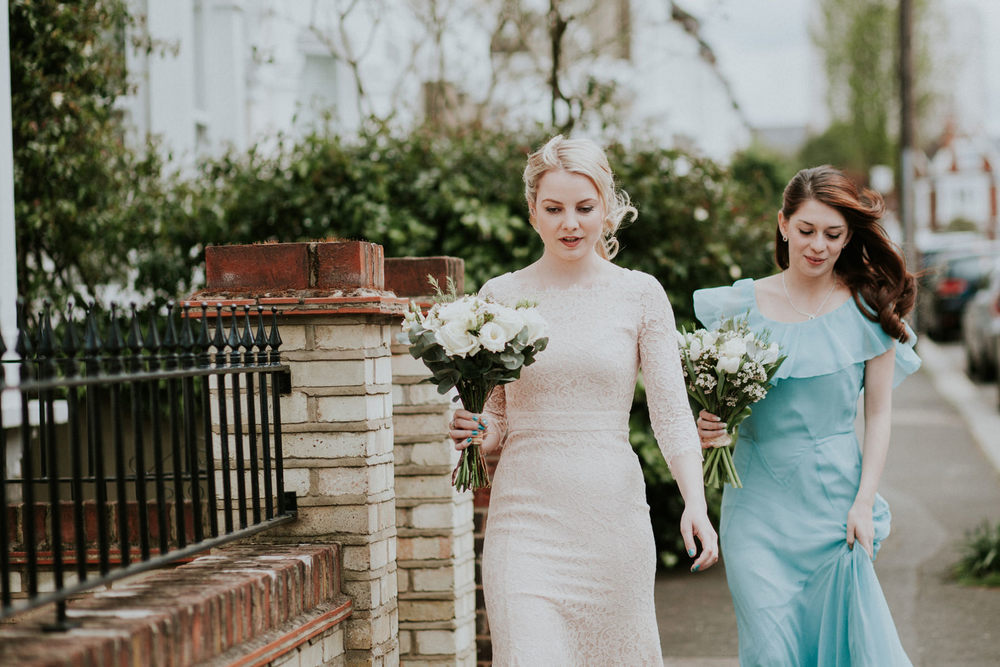 LD-125-London-bridesmaids-blue-dresses-bride-walking-to-wedding-ceremony.jpg