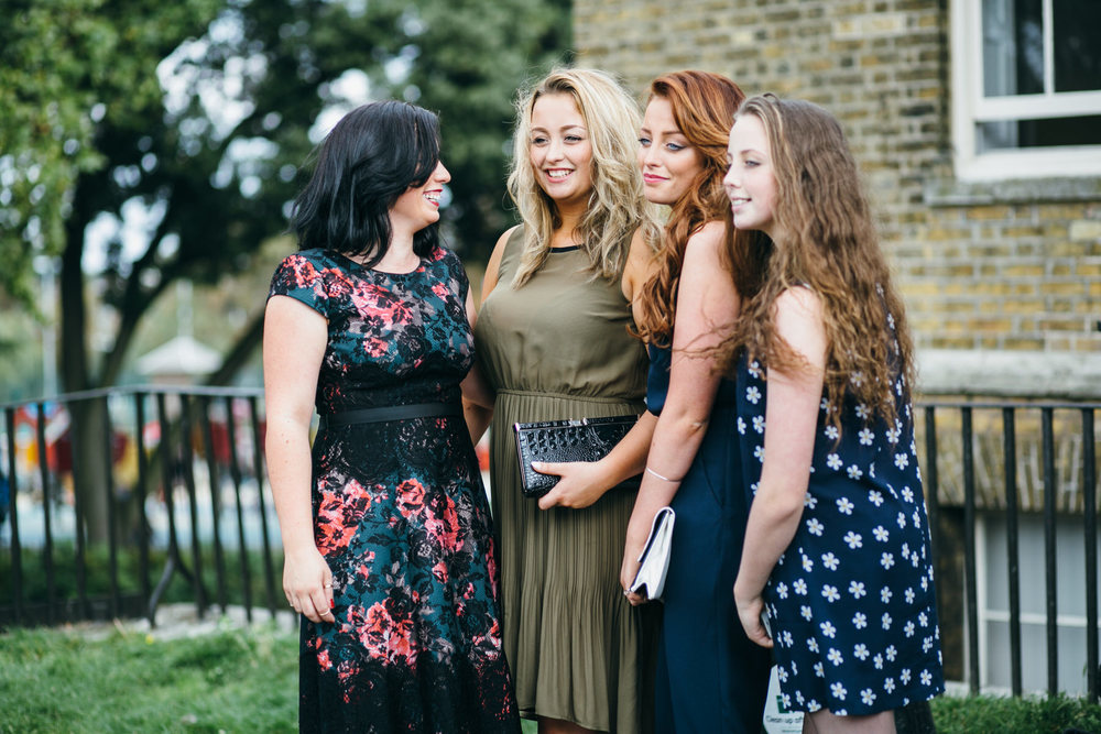 documentary style wedding photography guest candids