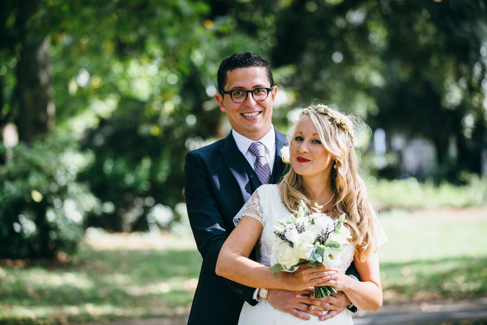 natural wedding photography London Stoke Newington