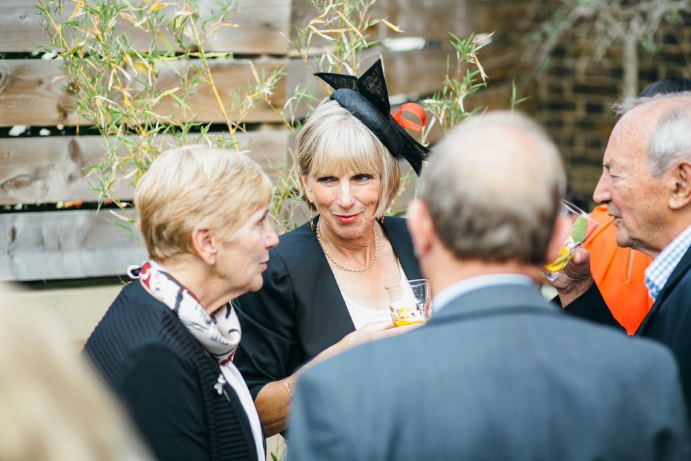 guest candids The Stag Hampstead wedding
