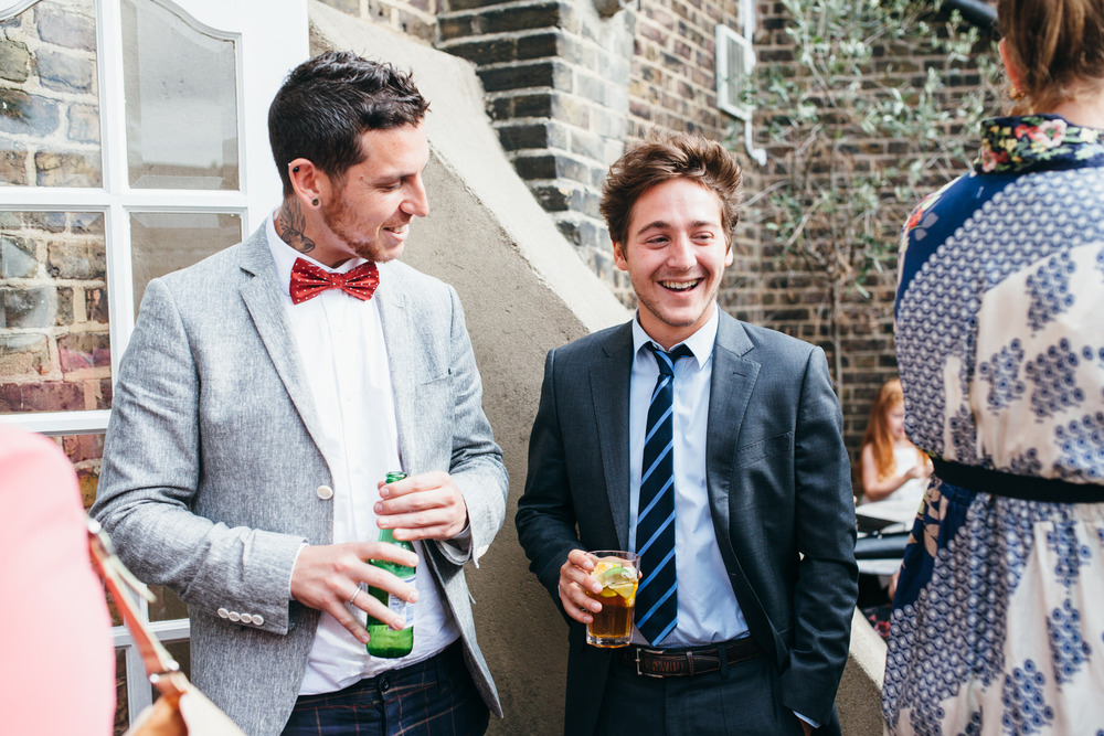 The Stag Hampstead documentary wedding photographer