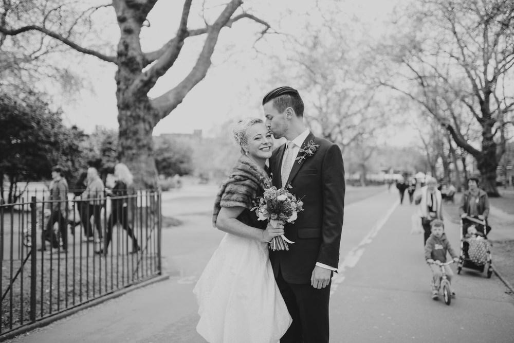 MS-Londesborough-Pub-wedding-Hackney-alternative-photographer-42-BW-wedding-photo-quirky-groom-bride-London-Fields-reportage.jpg