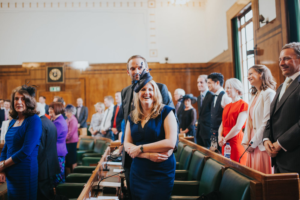 MS-Londesborough-Pub-wedding-Hackney-alternative-photographer-99-guests-awaiting-brides-arrival-town-hall.jpg