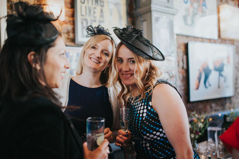 guests candids Londesborough Pub wedding