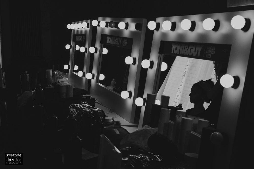 mirror lights backstage Elite Model Look 2011 castings