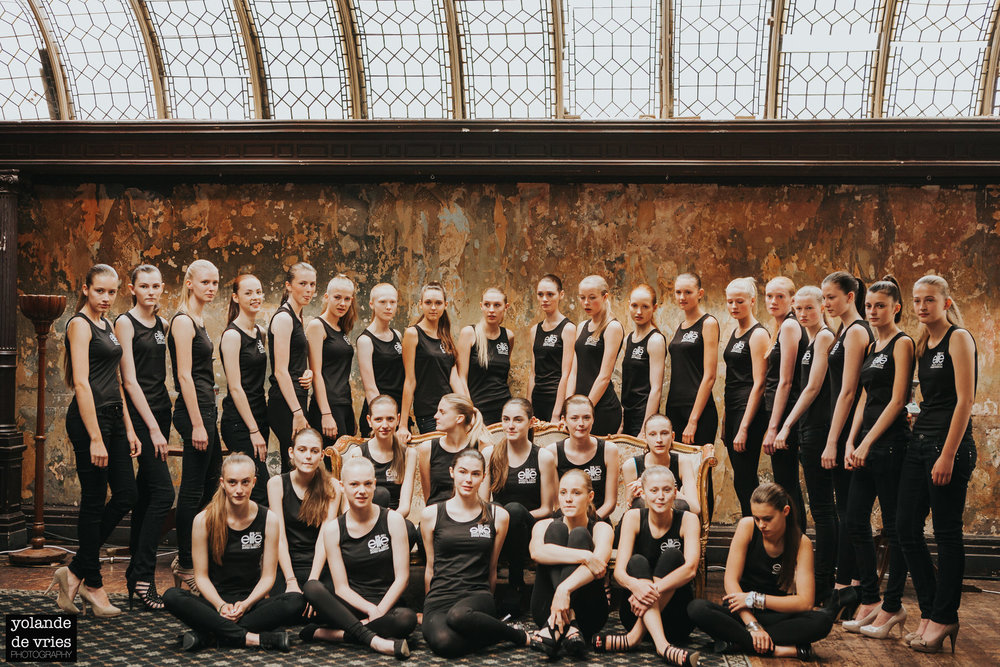 Elite Model Look 2011 group photo London fashion reportage photographer Yolande De Vries