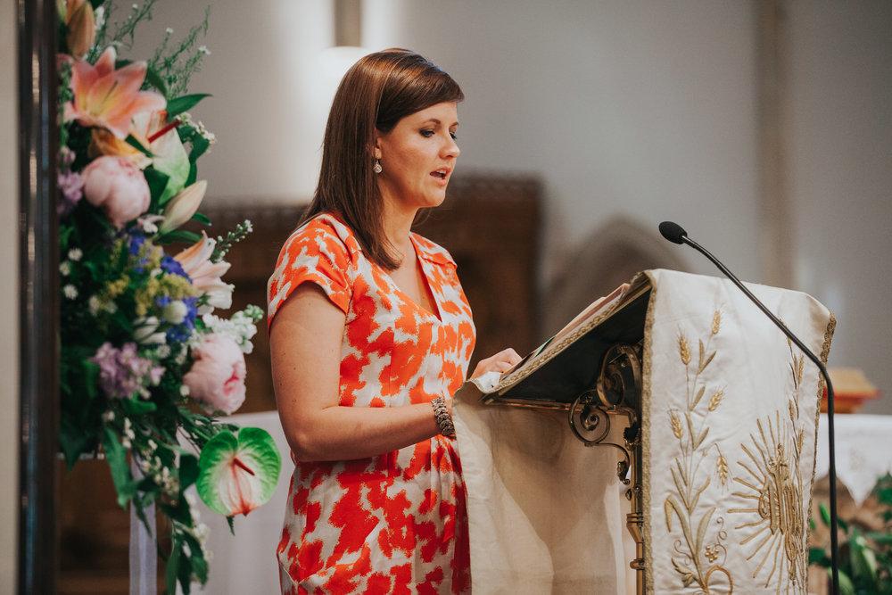 56 guest reading Catholic Church wedding.jpg