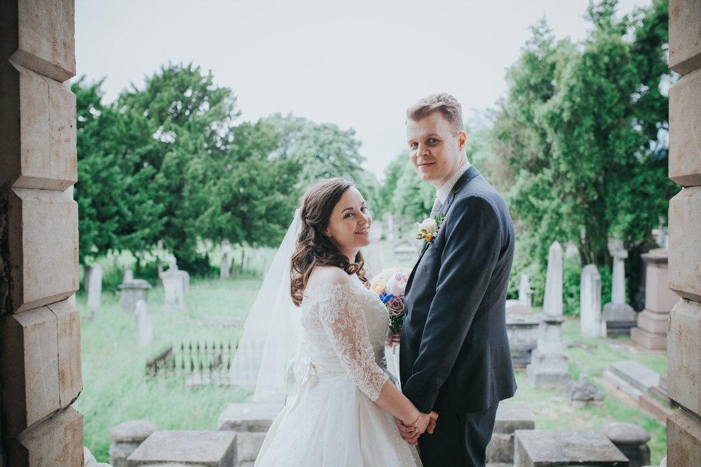 126-groom bride wedding portraits Brompton Cemetery_.jpg