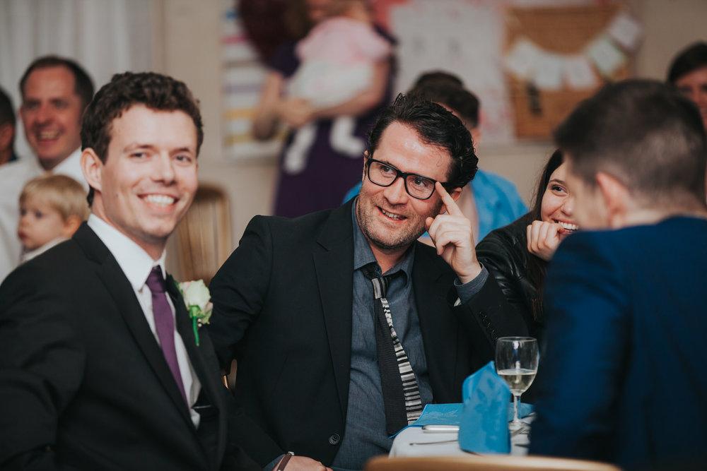 227 guest candids school hall wedding reception London.jpg
