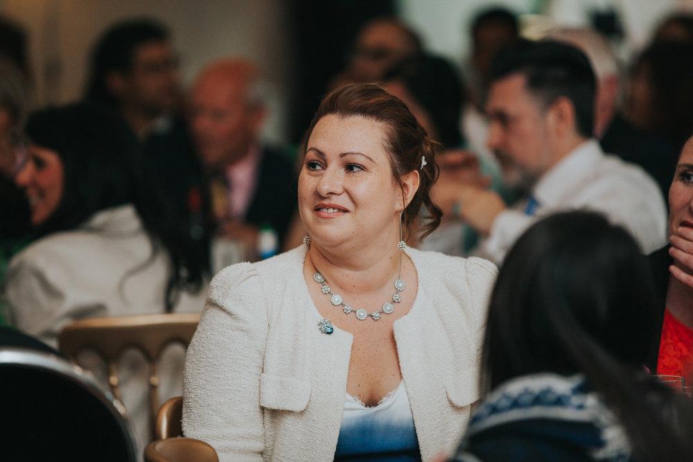 230 guest candids school hall wedding reception London.jpg