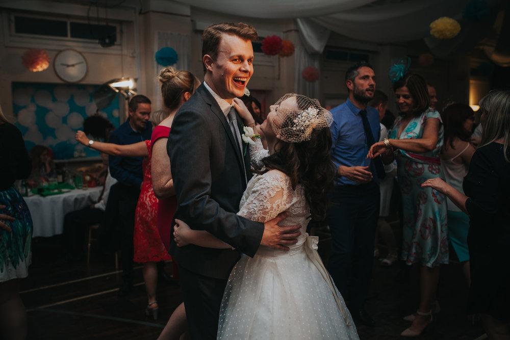 262 first dance school hall wedding reception London.jpg