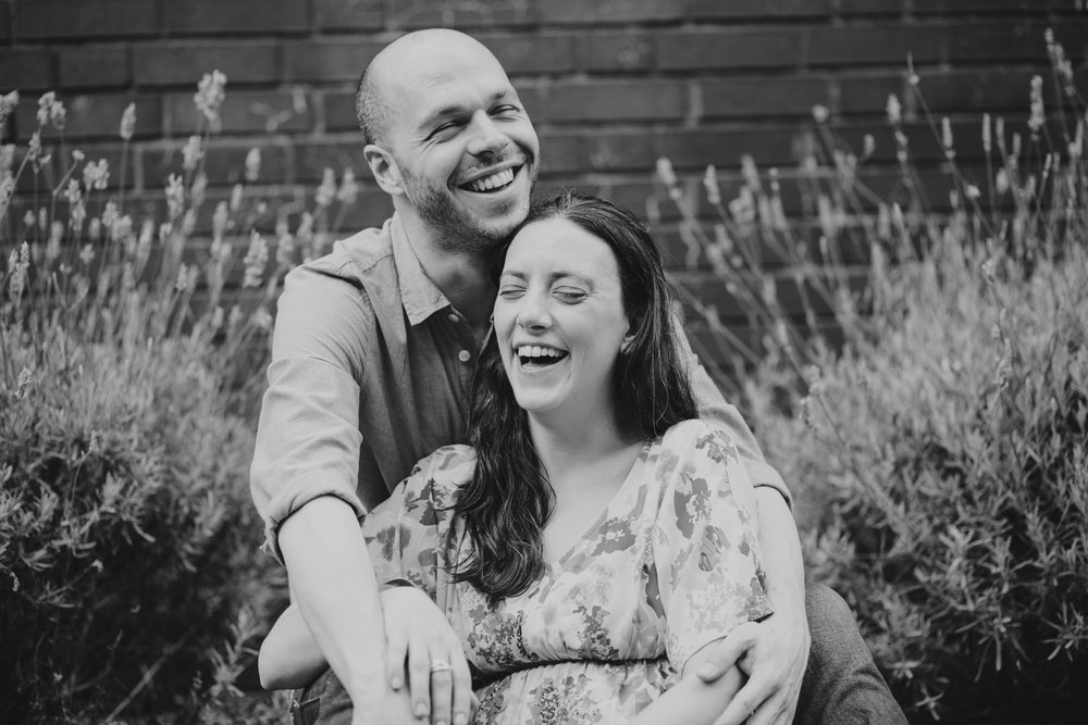 23-couple sitting in lavender bush Southbank engagement session_.jpg