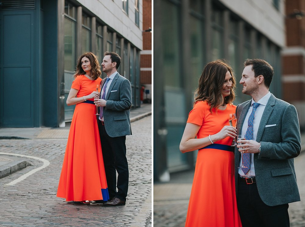 43-St Chads Place couple wedding portraits not a white dress.jpg