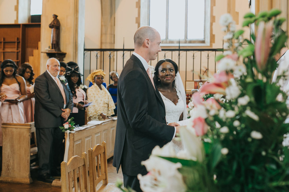 70 bride groom St Thomas More Church Dulwich wedding ceremony.jpg