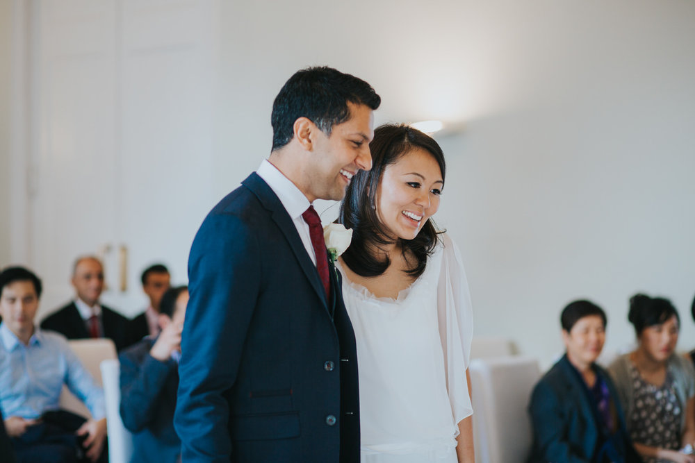 Asia House reportage wedding photography